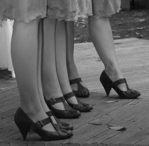 1920's shoes