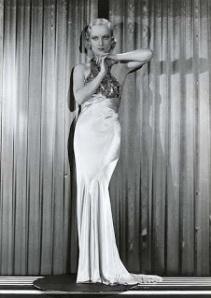 Carole Lombard Deco Pose