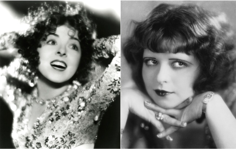 Colleen Moore and Clara Bow, fun loving flappers!