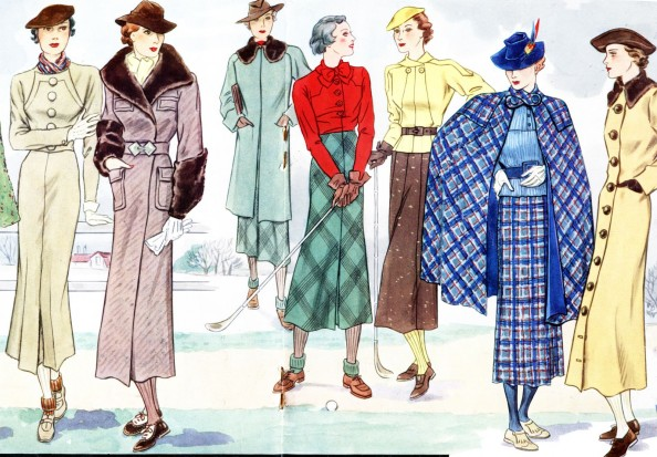 1930 and 1940 fashion 53