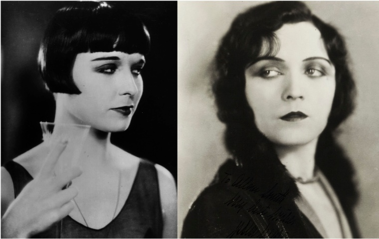 Louise Brooks and Pola Negri