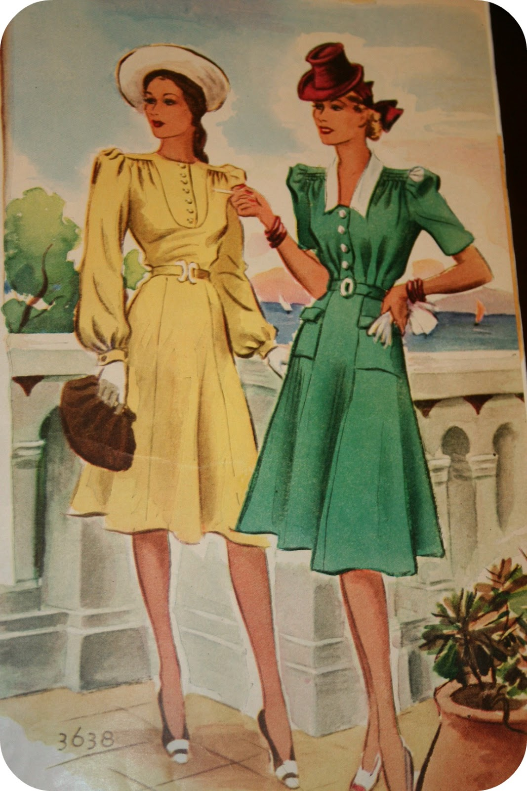 1940s Fashion: 1940s Fashion