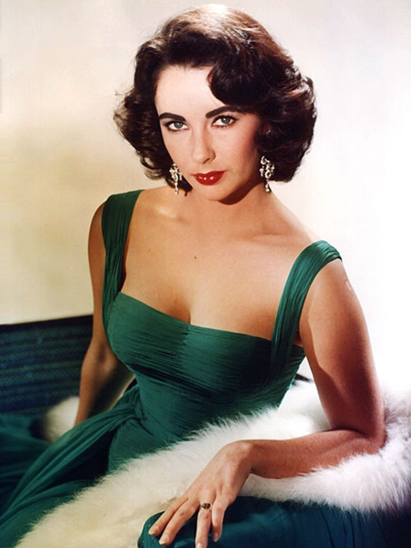 Elizabeth Taylor Green Dress Suddenly Last Summer