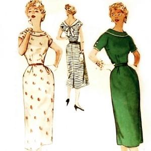 walk_away_v_back_sheath_dress_vtg_1950s_pattern_slim_wiggle_dress__70b9e7f1