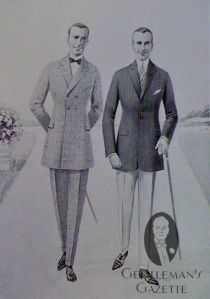 Mens-Clothing-in-the-1920s-frock-coat-slim-shoulders-narrow-trousers