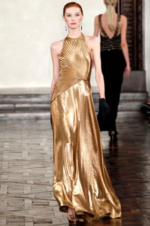 Fashion inspired by the 1920s and 1930s - Ralph Lauren Fall 2012 RTW collection