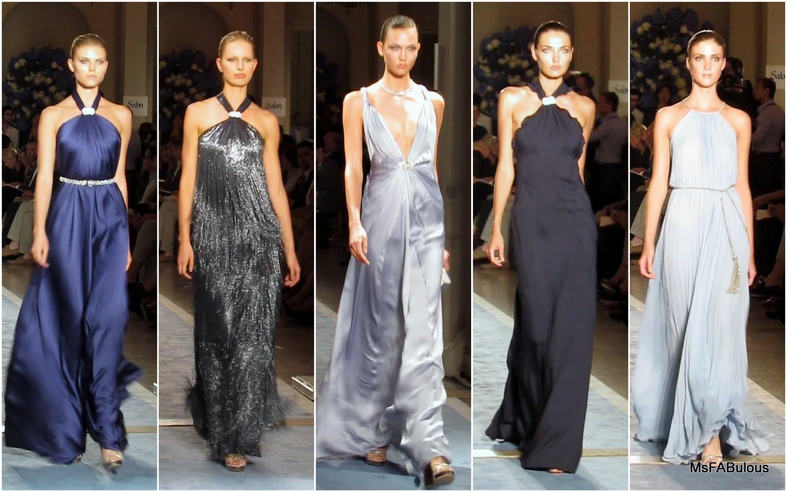 modern interpretations of 1930s evening dresses