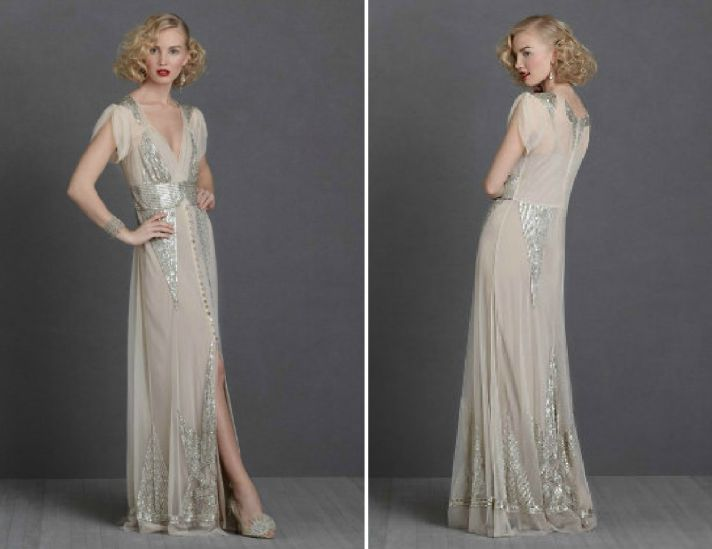 Modern Interpretations of 1930s Evening Dresses