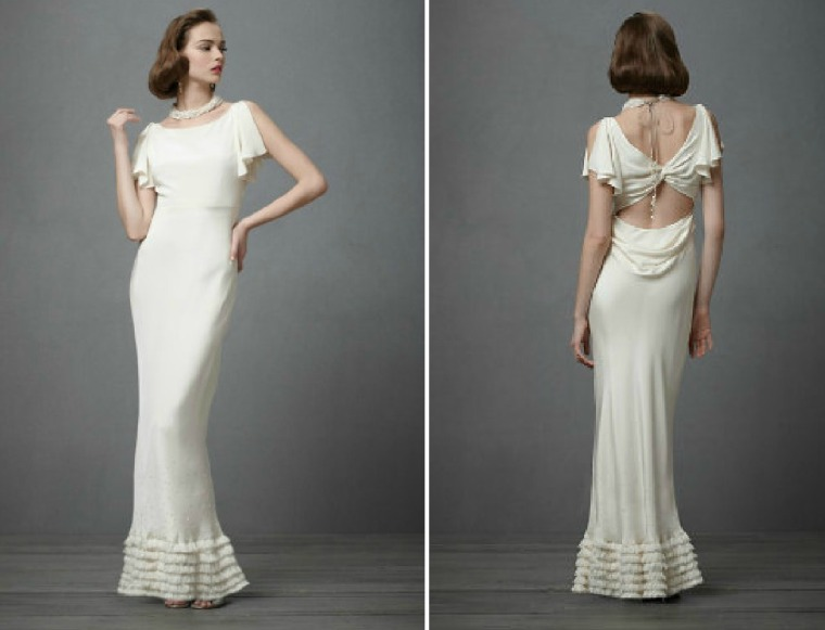 Modern Interpretations of 1930s Evening Dresses |