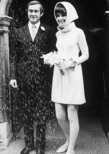 Audrey Hepburn and Andrea Dotti wedding2