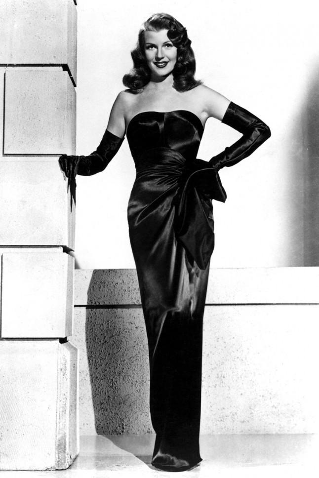 Evening wear 1940s dress