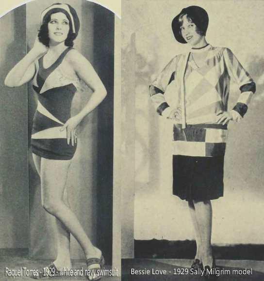 Raquel-Torres-Bessie-Love-1929-summer-fashions