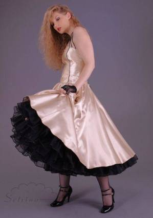 petticoat-dress-satin-calf-length-fifties-creme-black-setrino